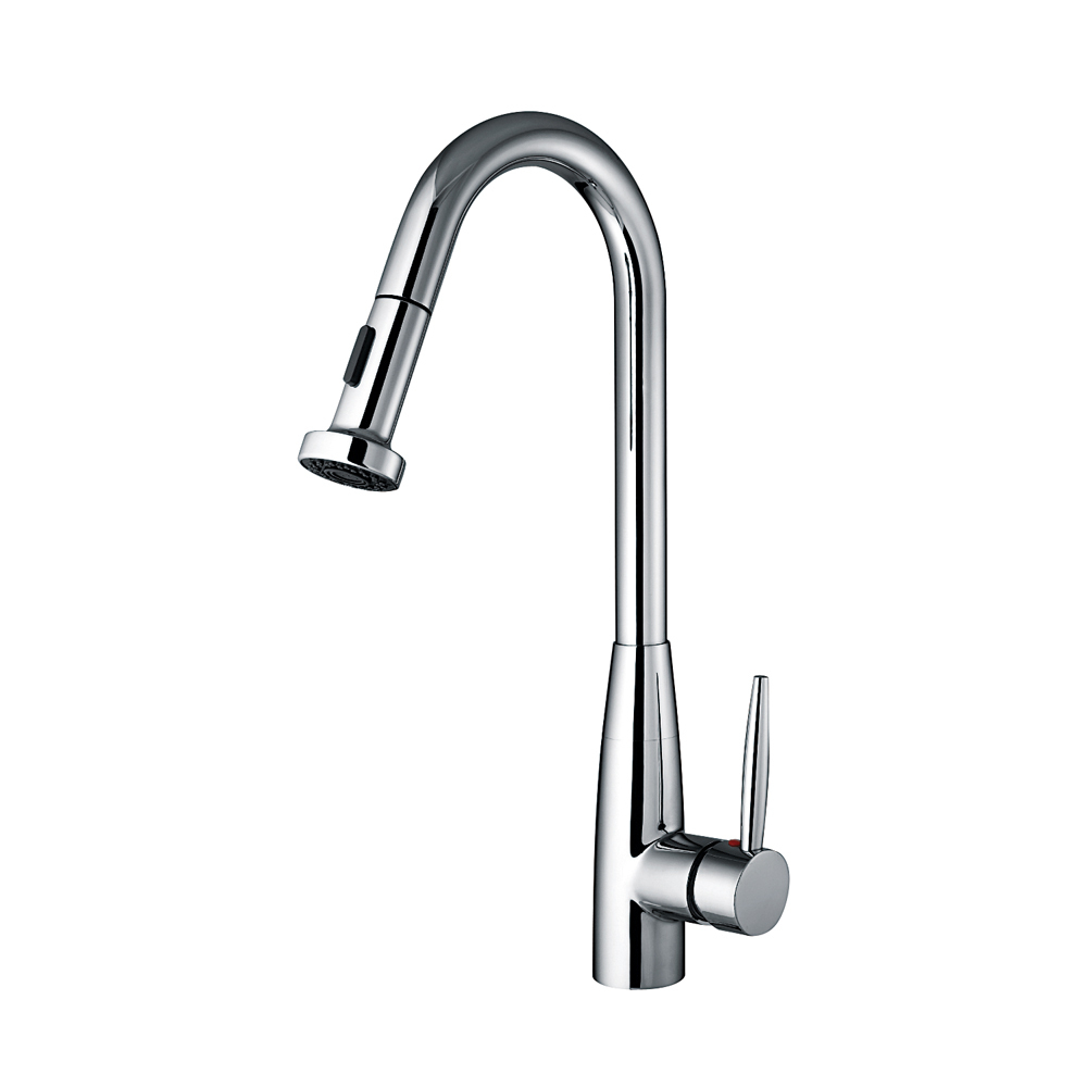Primary image for  Single/Lever Handle Faucet,Gooseneck Swivel Spout,Pull-Down Spray Head