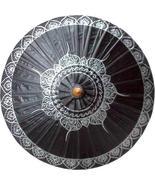 Black Traditional Thai Umbrella Fashion Umbrellas - $28.95
