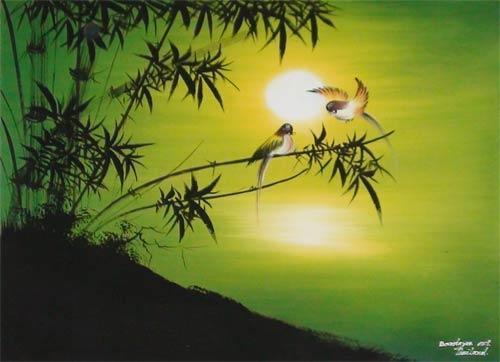 Spring Promise Oriental Paintings