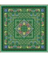 Summer Meadow cross stitch chart Colorful Cross Stitch Creations - $6.30