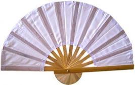 White Bamboo Hand Fan Asian Hand Fans - $1.95