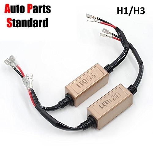 2S H1 H3 LED Headlight Bulb Decoder Error and similar items
