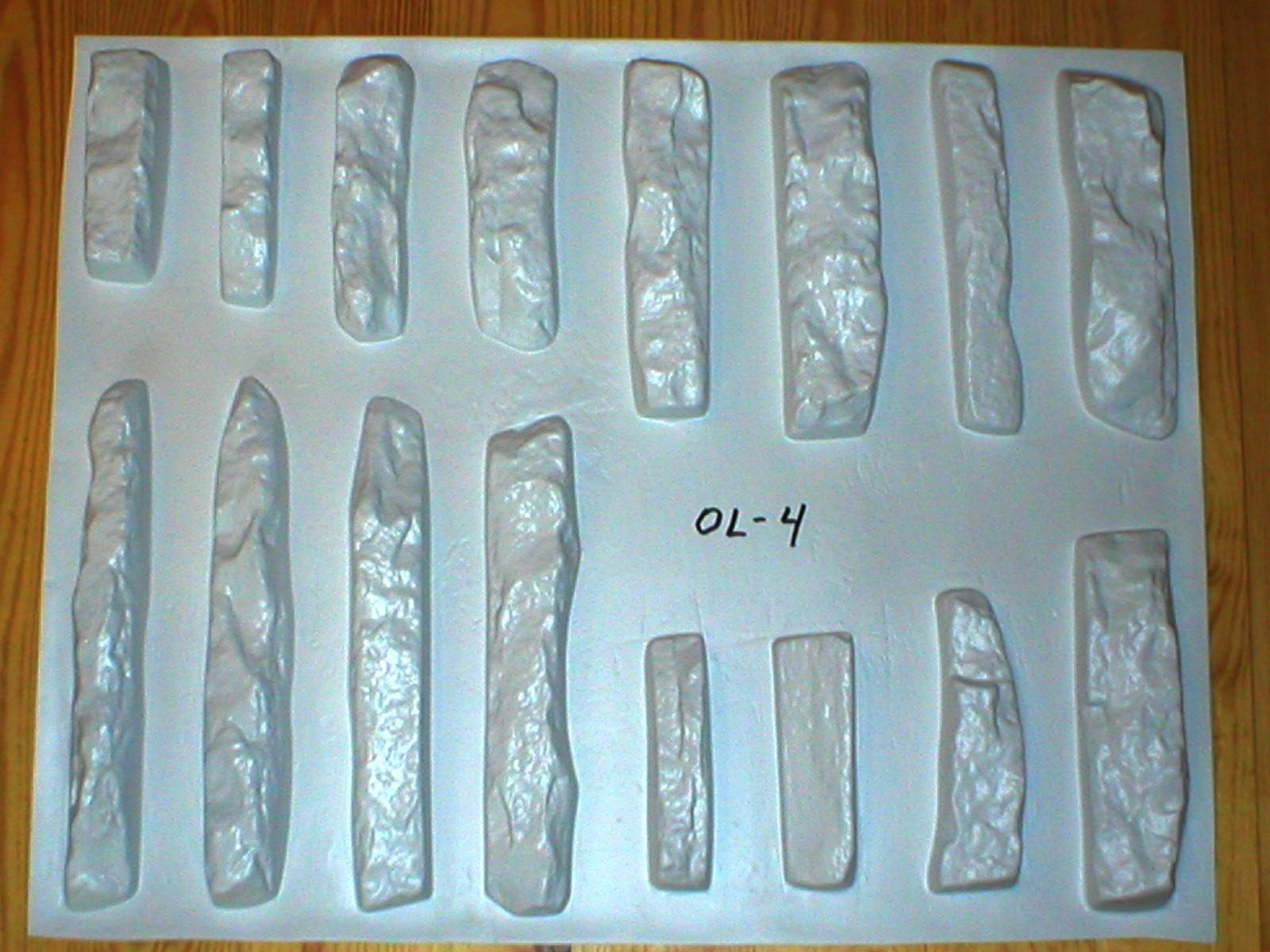 86 LEDGESTONE VENEER MOLDS MAKE TO 1000s OF INDIVIDUAL STONES FOR PENNIES EACH!