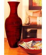 "36"" Classic Bamboo Floor Vase Large Floor Vases - $129.95"