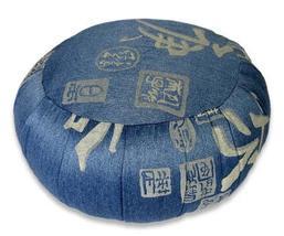Kapok Calligraphy Meditation Zafu Cushion Meditation Zafu Cushions - $84.95