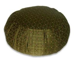 Olive Meditation Zafu Cushion Meditation Zafu Cushions - $84.95