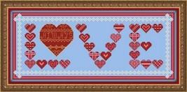 Love Always cross stitch chart Colorful Cross Stitch Creations - $6.30