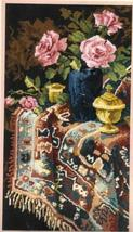 Williams Floral Still Life Needlepoint Kit Persian Rug - $45.00