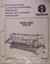 New Holland 350W Windrow Heads for Forage Harvesters Parts Manual - $6.00