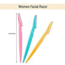 Boao 36 Pieces Eyebrow Razor Trimmer Shaper Shaver for Men and Women, Facial Raz image 2