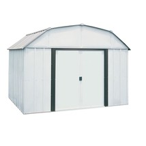Storage Shed Steel Building 10 x 8 Sliding Lockable Double Door Outdoor ... - $527.21