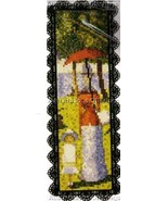 Fine Art Bookmark Cross Stitch Kit Sunday Afternoon #2 - $19.00
