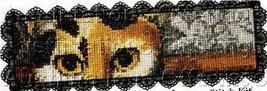 Fine Art Bookmark Cross Stitch Kit Folk Art Cats - $19.00