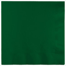 3 Ply Lunch Napkins Hunter Green/Case of 500 - £31.45 GBP