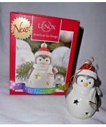 Lenox Penguin Christmas Tree Color CHanging Lit Ornament Stars - $24.71
