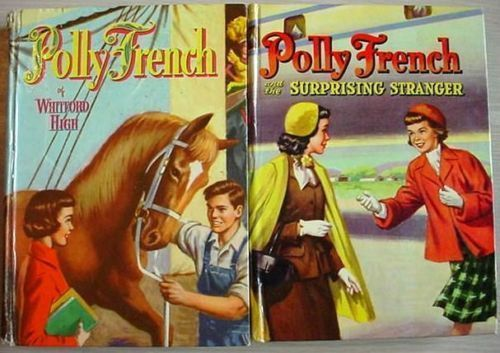 POLLY FRENCH Whitford High & Surprising Stranger 2 Lot glossy hardcovers