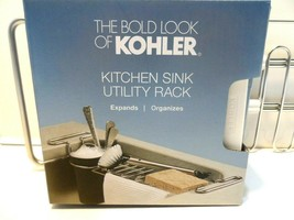 K-5473 CHR Kohler Kitchen Sink Expanding Utility Rack with White cup - $8.79