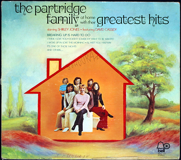 The partridge family greatest hits cover