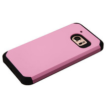 For HTC 10 Hybrid Rubber Dual Layers Hard Soft Protective Case Cover Thin PINK - $6.44