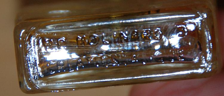 Molinard de Molinard Vintage Miniature Perfume Bottle Lalique