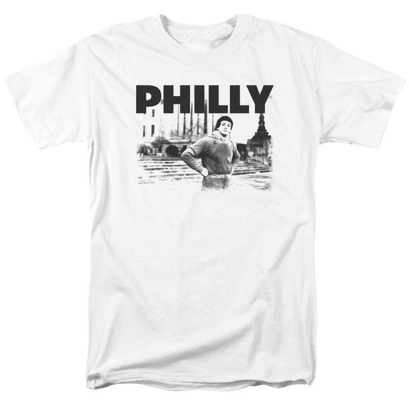 Rocky Movie Philly Retro 70s 80s Rocky Balboa Stallone graphic t-shirt MGM384