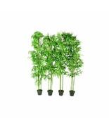 "4 pcs 75"" Bamboo Plant Artificial Arrangement Fake Silk Tree Home Decor ... - $171.99"