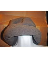 Land's End Fleece Hat Dark Gray SP - $17.99