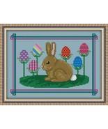 8927 an easter bunny s garden thumbtall