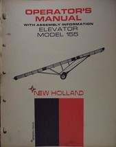New Holland 155 Elevator Operator's Manual - $6.00