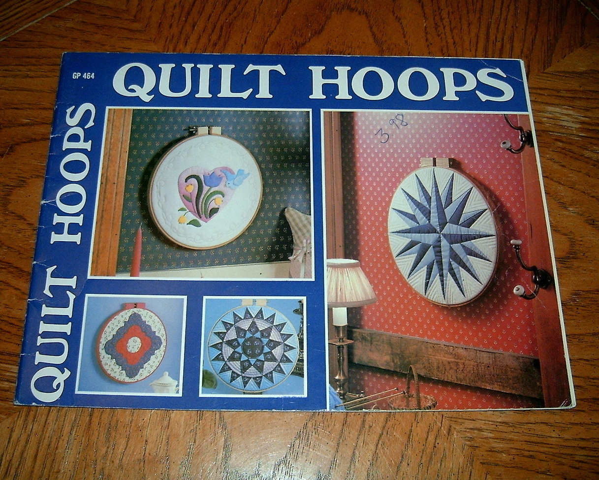 Primary image for Quilt Hoops Learn How To Book Yvonne L. Amico