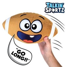 Move2Play Talkin' Sports, Hilariously Interactive Toy Football with Musi... - $21.42