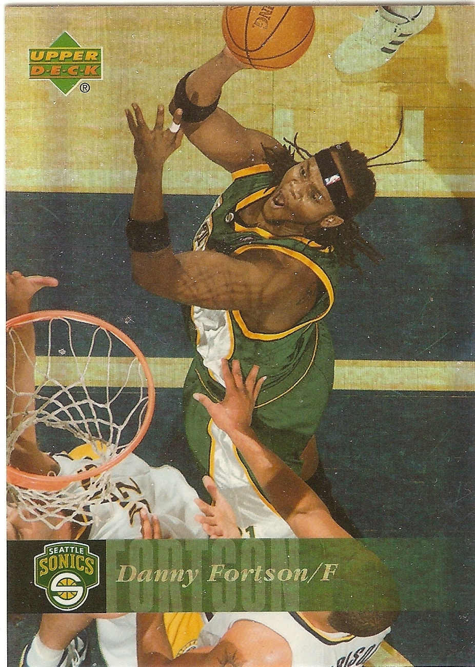 Danny Fortson Upper Deck Reserve 06-07 #177 Seattle Supersonics Dallas Mavs