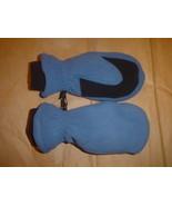 Land's End Fleece Mittens Medium Dark Blue  - $17.99