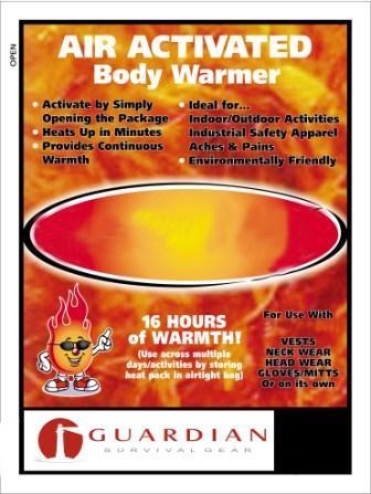 10 Hand & Body Warmers
