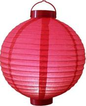 "12"" Glowing Red Lantern Glowing Asian Lanterns - $19.95"