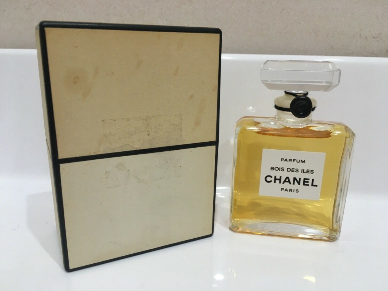 RARE CHANEL BOIS DES ILES Perfume 14ml vintage sealed