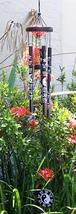 Black Yin Yang with Ba Gua Windchime Wind Chimes - $17.95