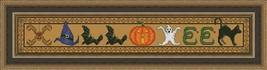 Halloween Critters cross stitch chart Colorful Cross Stitch Creations - $6.30