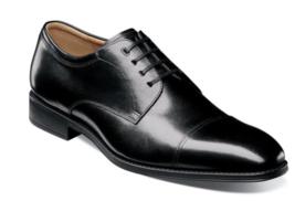 Florsheim Mens Shoes Amelio Cap Toe Oxford Black 14243-001 - $120.99