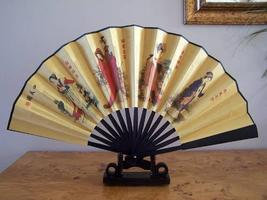 Famous Four Muses Table Display Fans - $18.95