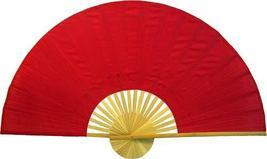 """60"""" width Solid Red Unpainted Fan Oriental Wall Fans - $38.95"""