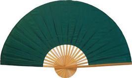 """40"""" width Solid Green Unpainted Fan Oriental Wall Fans - $28.95"""
