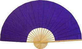 """60"""" width Solid Purple Unpainted Fan Oriental Wall Fans - $38.95"""