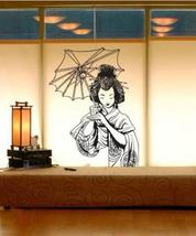 "32"" x 20"" Japanese Geisha Wall Decal Asian Art Wall Stickers - $51.95"