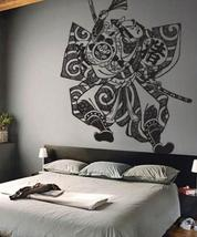 "72"" x 54"" Samurai Fighter Wall Decal Asian Art Wall Stickers - $93.95"