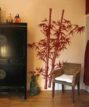 "144"" x 112"" Lush Bamboo Wall Decal Asian Art Wall Stickers - $148.95"