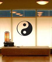 "51"" x 53"" Traditional Yin Yang Wall Decal Asian Art Wall Stickers - $51.95"