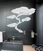 """36"""" x 42"""" Tall Bonsai Tree Wall Decal Asian Art Wall Stickers - $46.95"""