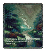 Petals of Hope w/Verse Wall Tapestry Afghans - $78.85+