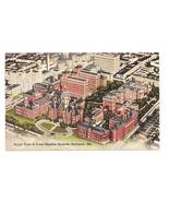 Vintage 1944 Postcard John Hopkins Hospital Baltimore MD - $4.95